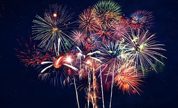 2019 Firework Displays!
